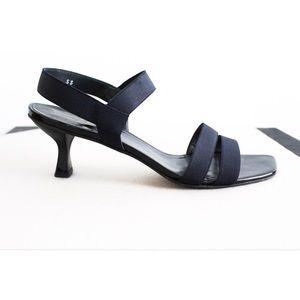 Stuart Weitzman Elastic Strap Heels